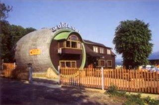 Restaurace Obří sud v Lázních Libverda.